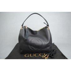 GUCCI SOHO TOP HANDLE BAG %100 HAKİKİ DERİ