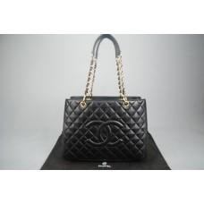 Chanel %100 hakiki kuzu derisi PST/ Petite Shopping Tote Bag