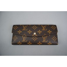 LOUIS VUITTON SARAH MONOGRAM CANVAS CÜZDAN