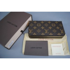 LOUIS VUITTON ZİPPY ÇİF FERMUARLI MONOGRAM CANVAS İTHAL KUTUSUNDA