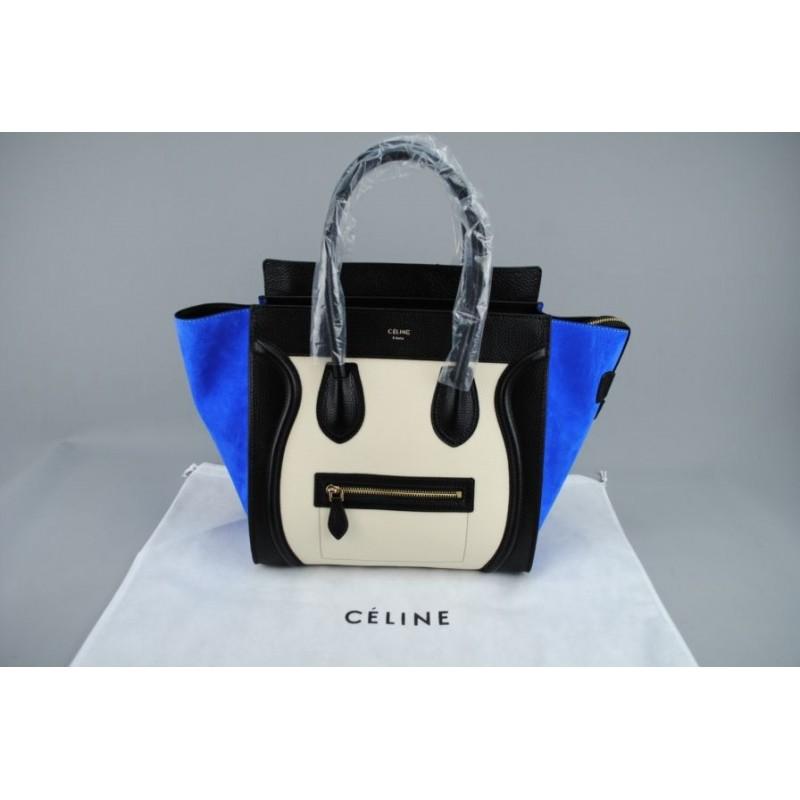 Celine Paris Luggage % 100 hakiki deri MEDIUM BOY