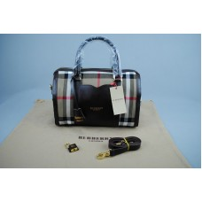 BURBERRY MARKA MEDIUM SARTORIAL HOUSE CHECK BOWLING BAG KOYUKAHVE