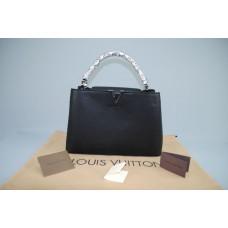 Louis Vuitton Capucine MODELI %100 hakiki deri