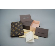 LOUIS VUITTON MONOGRAM CANVAS JAMES WALLET ITHAL CÜZDAN %100 hakiki deri