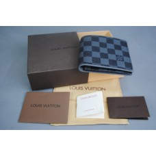 LOUIS VUITTON DAMIER GRAPHİTE MULTIPLE %100 HAKİKİ DERİ CÜZDAN