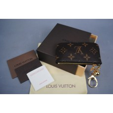 LOUİS VUİTTON MONOGRAM CANVAS KEY POUCH HAKİKİ DERİ