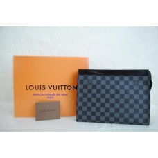 LOUIS VUITTON MONOGRAM CANVAS TOILETRY POUCH %100 hakiki vejital deri