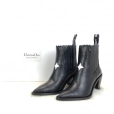 Christian Dior Star Ankle Boots