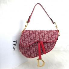Christian Dior Oblique Saddle Bag